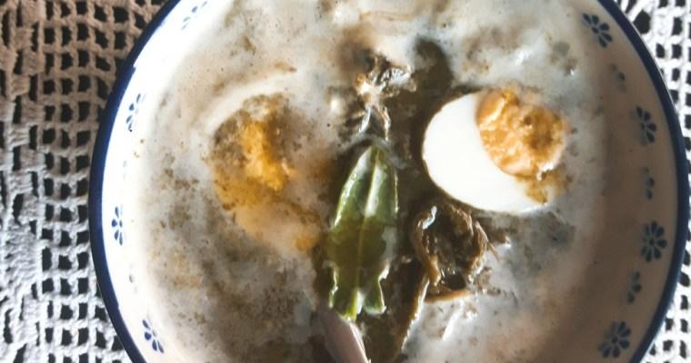 Zupa szczawiowa – smak wiosny
