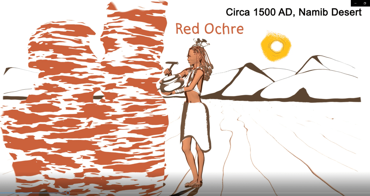 How the Himba Used the Sun Protective Power of the Red Ochre to Survive the Harsh Namib Sun