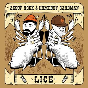 FREE EP: Aesop Rock & Homeboy Sandman - Lice
