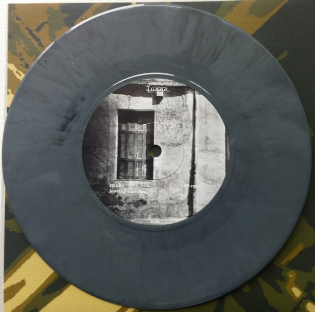 "Maki - ""Leaving Exarchia / Grayscale"" 7-inch"