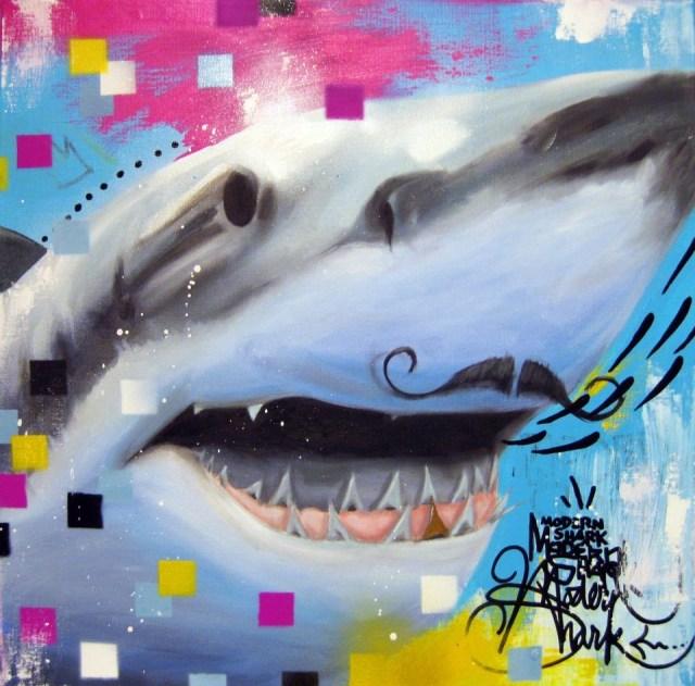 Modern Shark by Jeru Gabriel