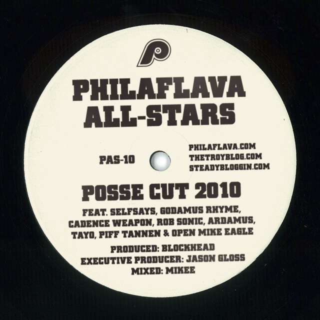 Philaflava Posse Cut 2010 feat. Cadence Weapon, Rob Sonic, SelfSays, Ardamus and more