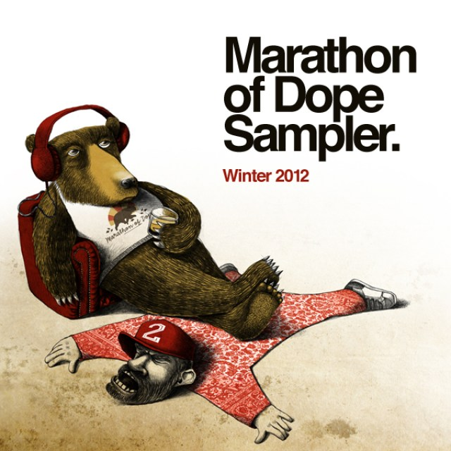 Marathon of Dope - Label Sampler Winter 2012