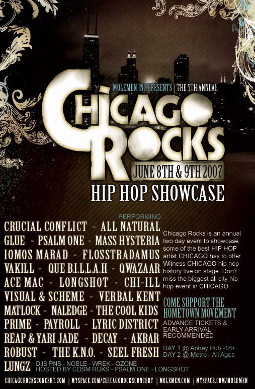 Chicago Rocks: 5th Annual Hip Hop Showcase