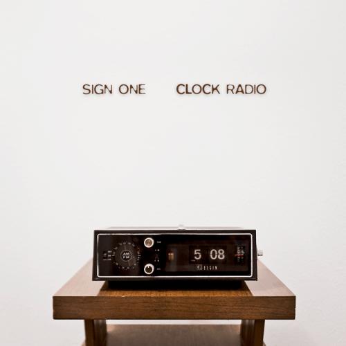 Sign One - Clock Radio