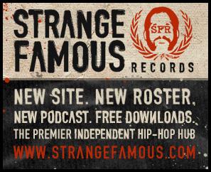 New Strange Famous Records website + Free Buddy Peace albumdownload