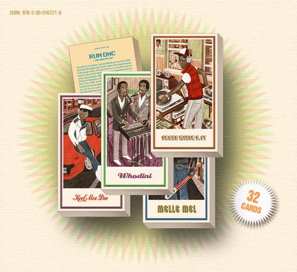 Legends of Rap Trading Card Deck