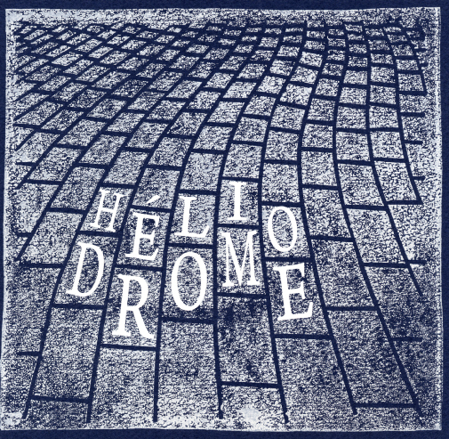 """Héliodrome - """"Black Meat / Looking For Dr Benway"""" 7-inch"""