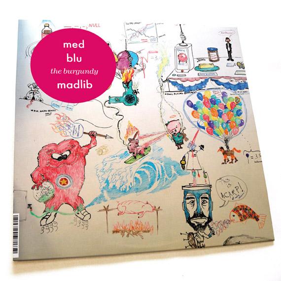 MED & Blu - The Burgundy EP