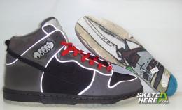 MF Doom x Nike SB Dunk High