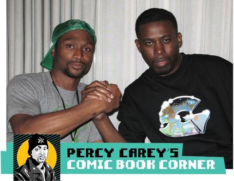 MF Grimm Talks Comics WithGZA