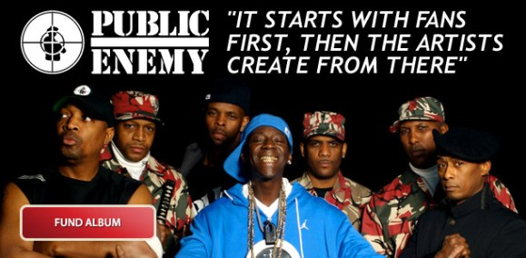 Public Enemy to fan-fund new album with SellaBand