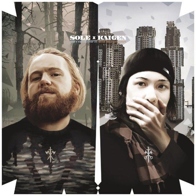 """Sole & Kaigen - """"Don't try to stop it / Rust Belt Fellows"""" vinyl 12"""""""
