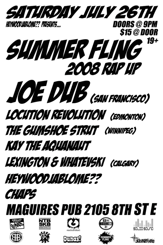 Summer Fling RapUp