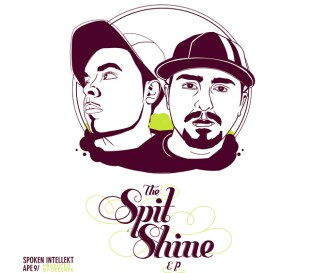 Spoken Intellekt & Ape9 - The Spit Shine EP (Prod. by Deeskee)