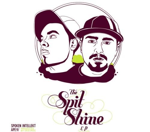 Spoken Intellekt & Ape9 - The Spit Shine EP (Prod. by Deeskee)