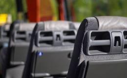 autobús, transporte, transporte de viajeros
