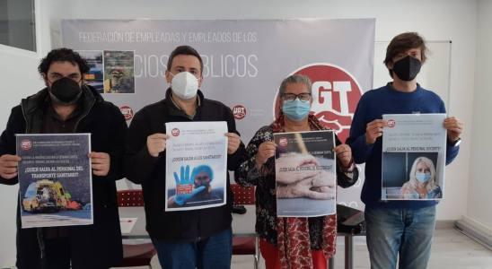 Presentación de la campaña de la FeSP UGT CLM en defensa de los empleados públicos.