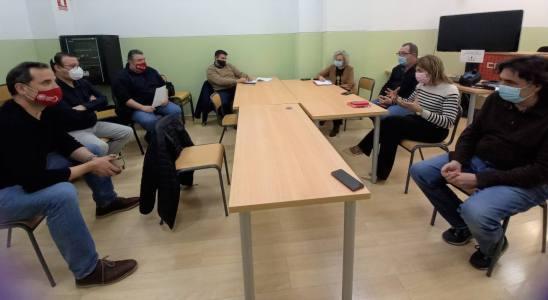 Encuentro entre UGT y CCOO Albacete.