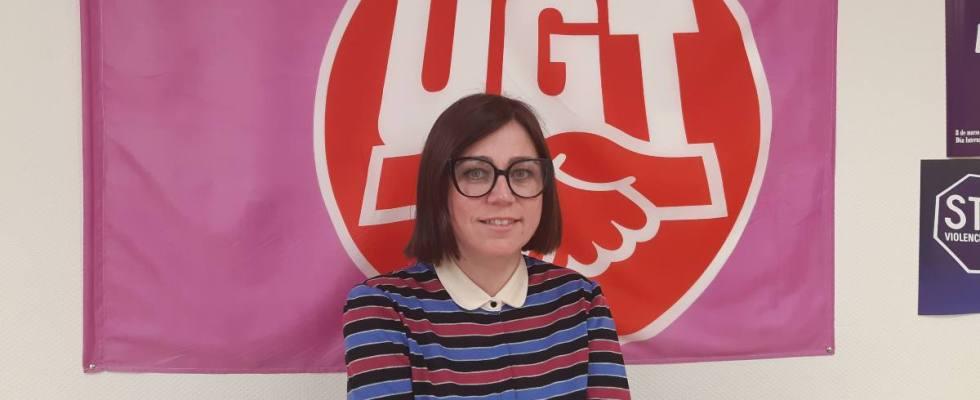 Marta Gil, secretaria de Igualdad y Política Social de UGT CLM.