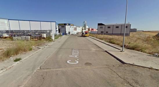 Calle Áncora de Illescas, donde ha tenido lugar un accidente laboral mortal.