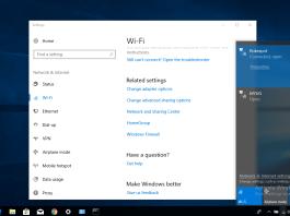 How to change WiFi password windows 10