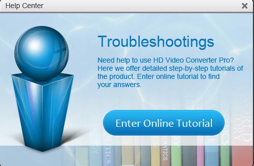 HD Video Converter Factory Pro Help center