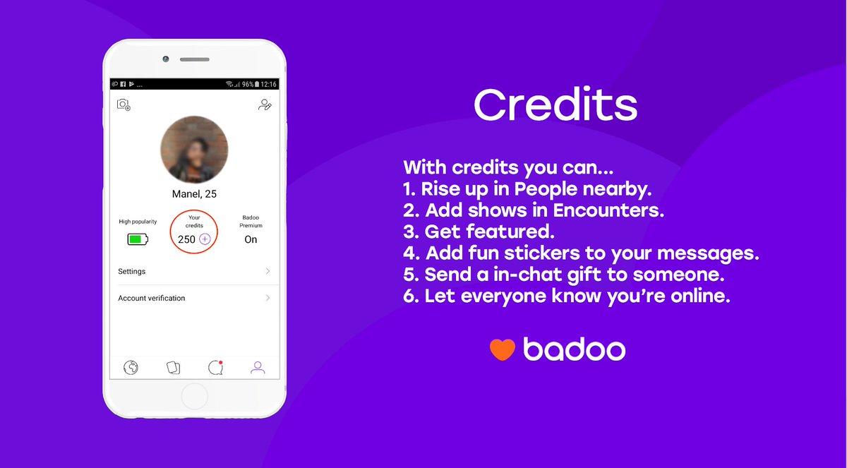badoo credits
