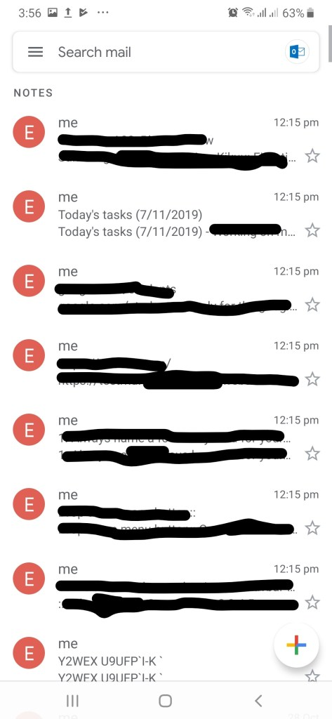Sync sticky notes to devices (with gmail app) - ugtechmag.com 2