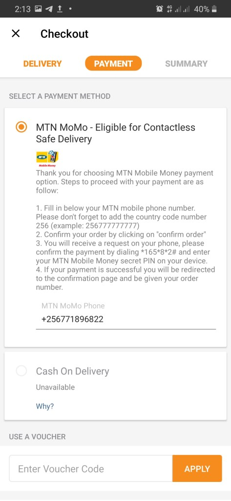 Pay for Jumia Prime with MTN Mobile Money