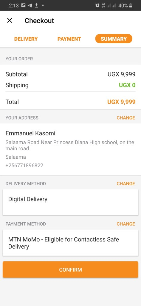 How to Pay for Jumia Prime with MTN Mobile Money
