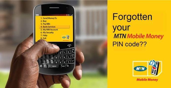 Reset mobile money pin MTN Uganda