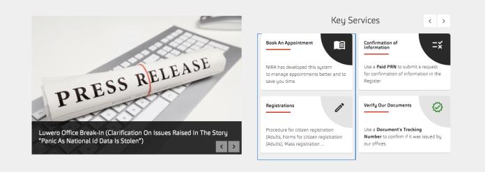schedule appointment nira online
