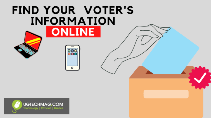 How to search for polling station information and Voter details online - ugtechmag.com