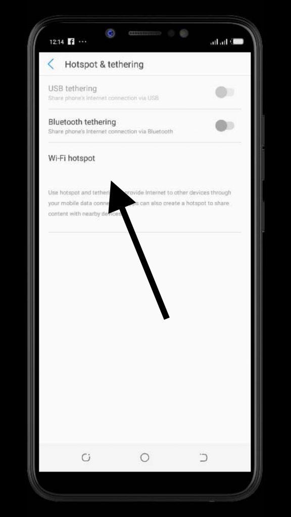 change mobile hotspot password