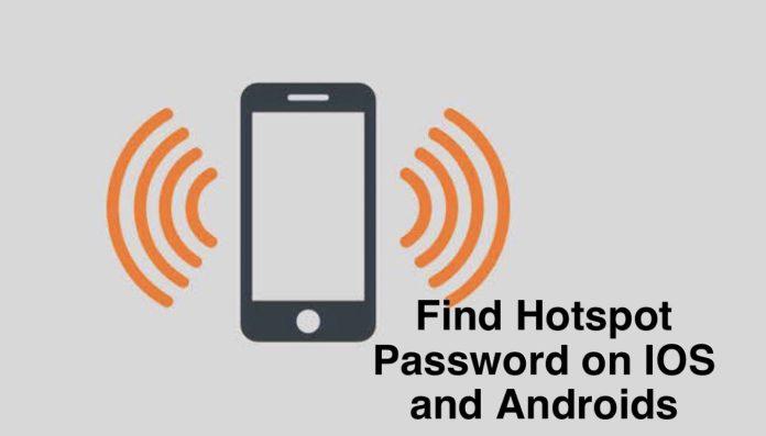 Find Hotspot password