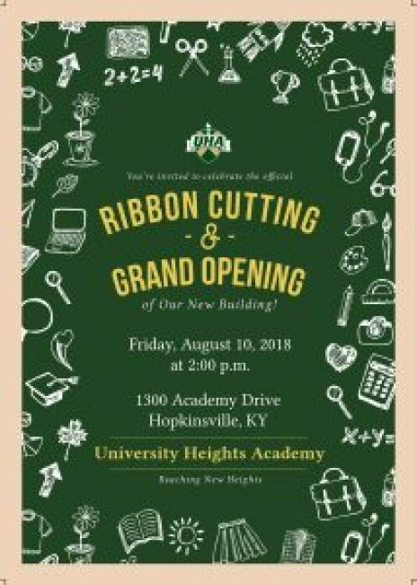 ribbon curring and grand opening