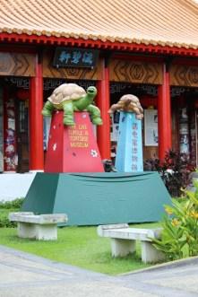 Bagian depan museum kura-kura