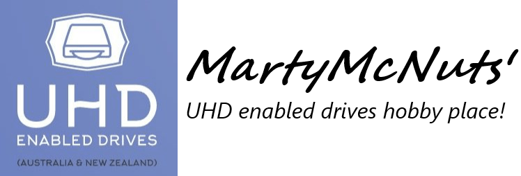 UHD Enabled Drives (Australia & New Zealand)
