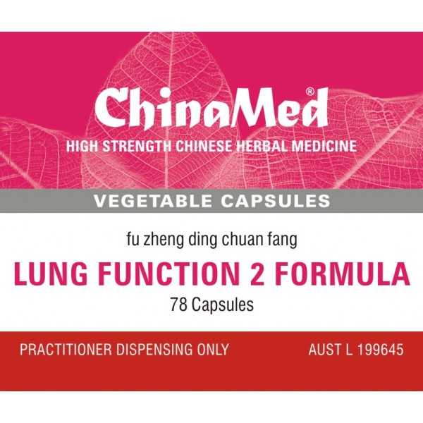 Fu Zheng Ding Chuan Fang, Lung Function 2 Formula
