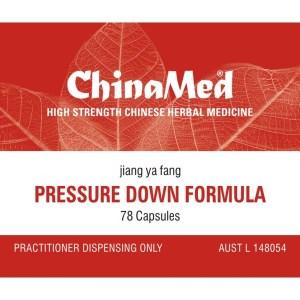 Jiang Ya Fang, Pressure Down Formula