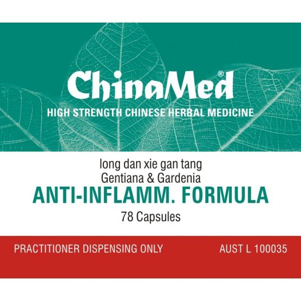 Anti-Inflamm. Formula, Long Dan Xie Gan Tang