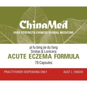 Pi Fu Bing Jie Du Fang, Acute Eczema Formula,