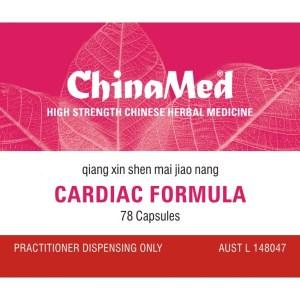 Qiang Xin Shen Mai Jiao Nang, Cardiac Formula