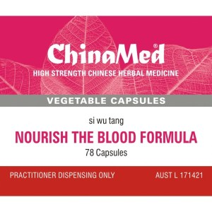 Si Wu Tang, Nourish The Blood Formula