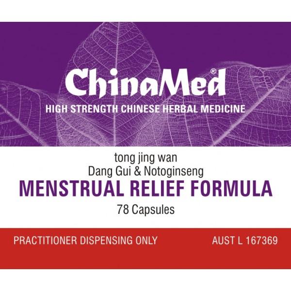 Tong Jing Wan, Menstrual Relief Formula