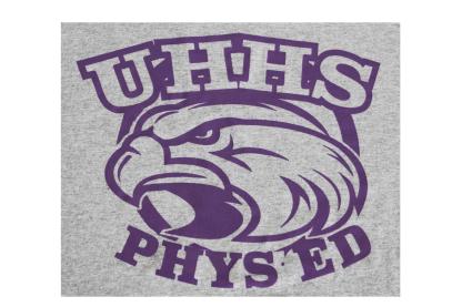 closeup of cotton blend gym t-shirt