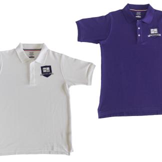 two polo shirts