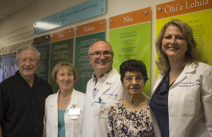 """Department of OB-GYN & Women's Health: Striving to """"Make a Difference"""""""