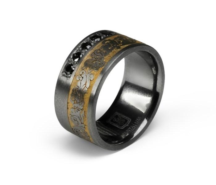 RoyalCurl_01 Salzburger Juwelierwaren KREMO kreativ modern Juwelier Salzburg Tantal Ringe Verlobungsringe Partnerringe Trauringe Eheringe aus Tantalum das seltenste stabile Element unseres Sonnensystems entdeckt 1802.